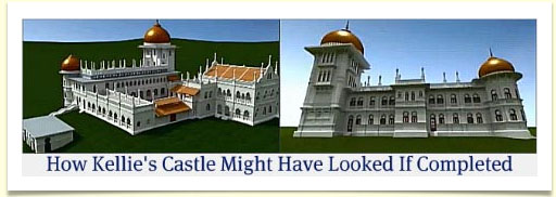 Kellie's Castle might have looked if completed