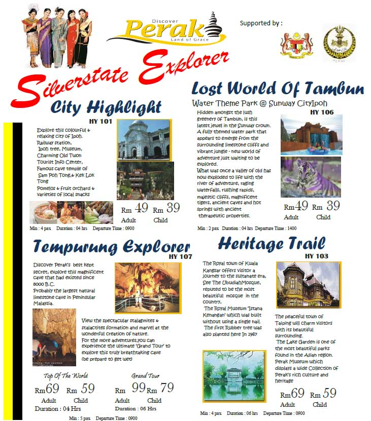 Ipoh Golden Dragon Tour Was Established In Aug 1984 And Is One Of The Leading Reputable Travel Agencies Operating Perak Malaysia